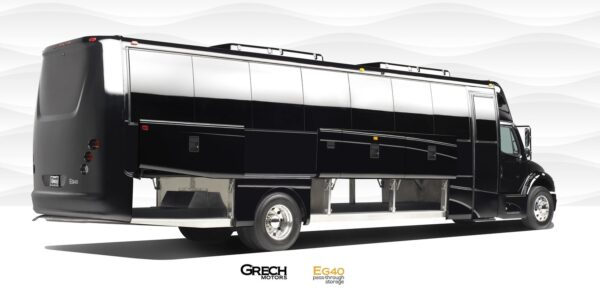 39 Passenger Bus Luggage Compartments.