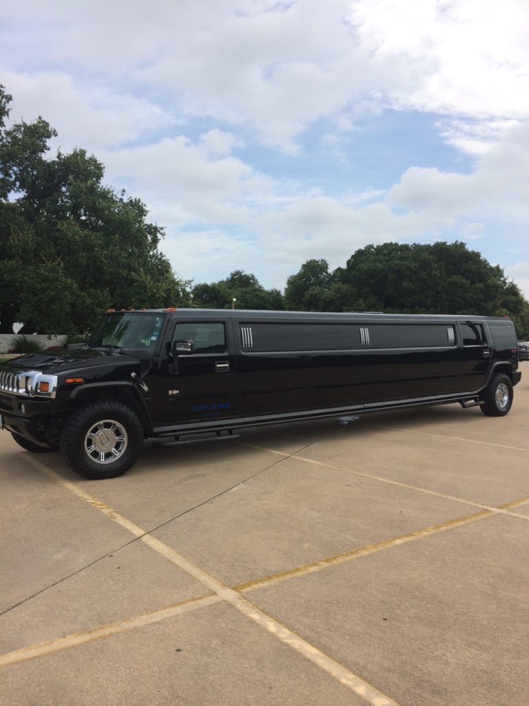Black Hummer Limo Rental Fort Worth