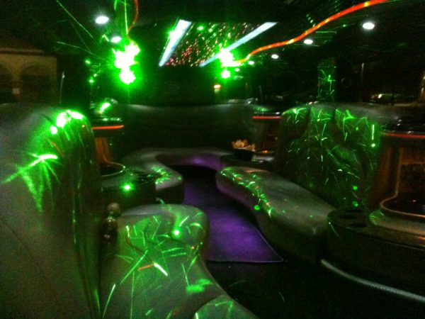 Hummer Limo Rental Fort Worth,Texas Disco Lights