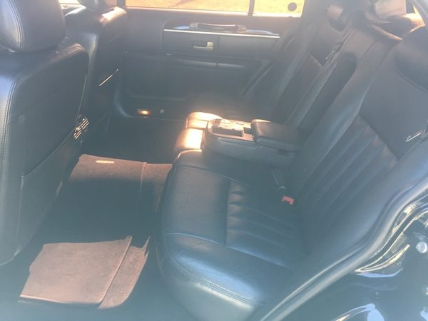Lincoln Town Car Backseat-Notice All Of The Legroom